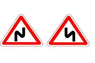 Все предупреждающие знаки дорожного движения