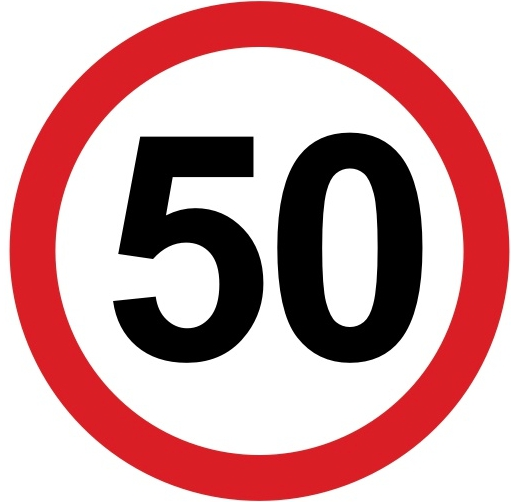 Обзор знака ограничение минимальной скорости