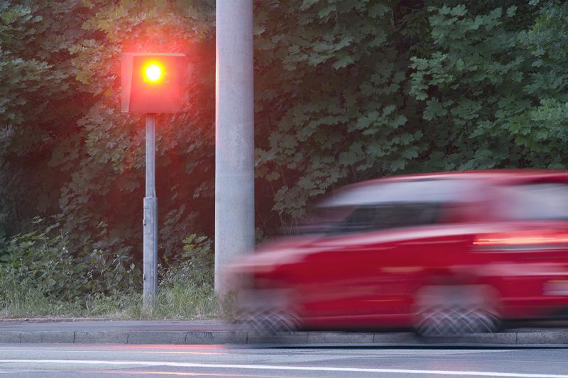 Наказание за повторный проезд на красный свет