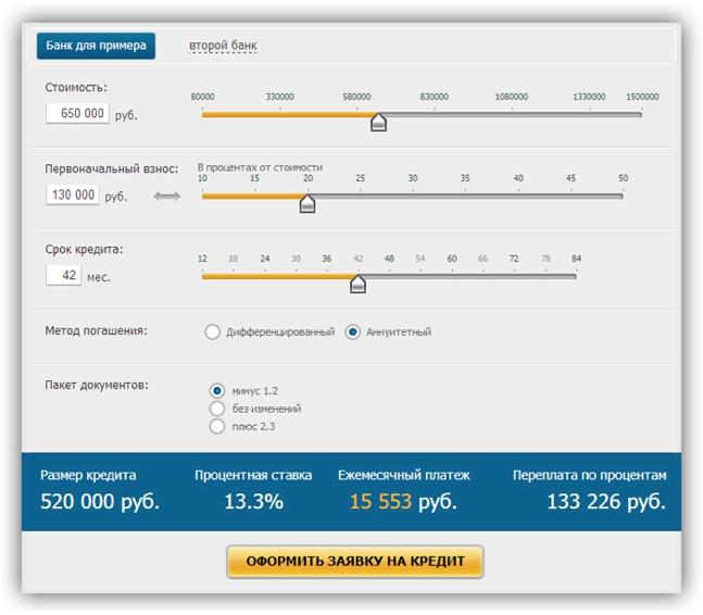 как рассчитать стоимость кредита формула онлайн калькул¤тор шмота