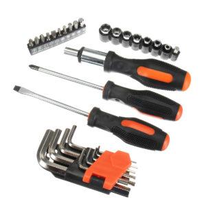 Ключи и набор отверток